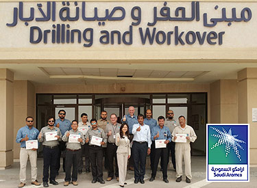Thumbs up to Saudi Aramco, API and Mireaux: the Saudi Aramco DEMD Wellhead Shop Team poses for a photo after 3 arduous but exciting days ofAPI Q2 Fundamentals training in Saudi Arabia.