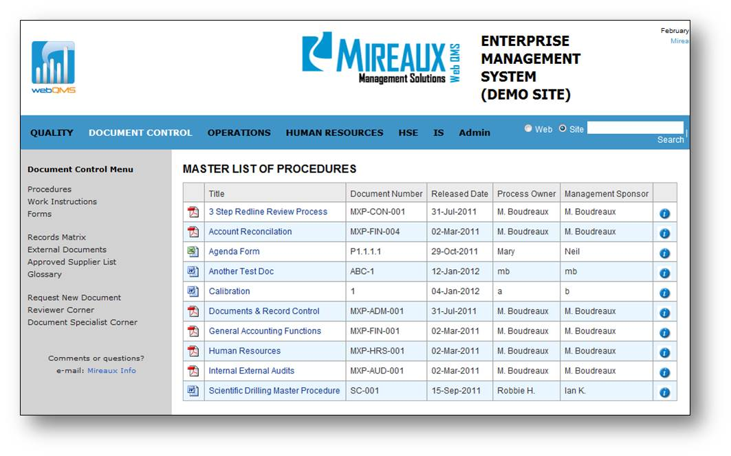document controller system Document Management System | Master Documents