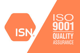 ISN is now ISO 9001 Certified