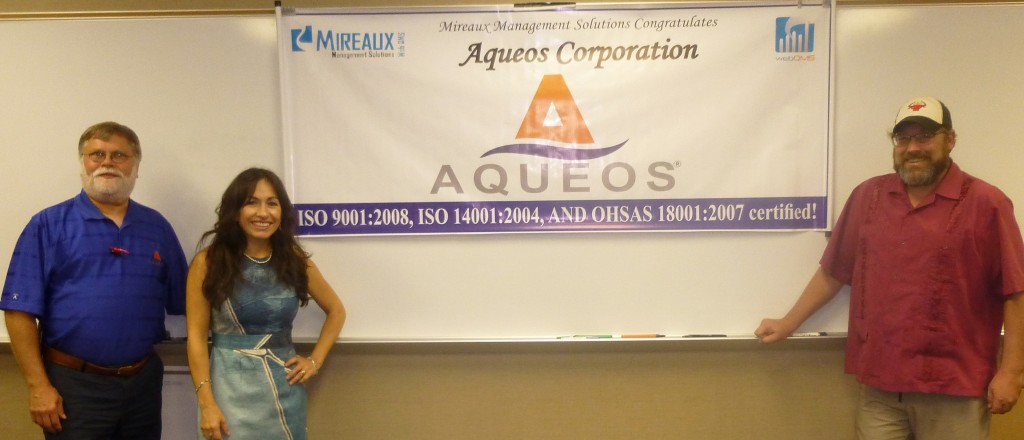 ISO 9001:2008, ISO 14001:2004, and OHSAS 18001:2007 Certified Banner