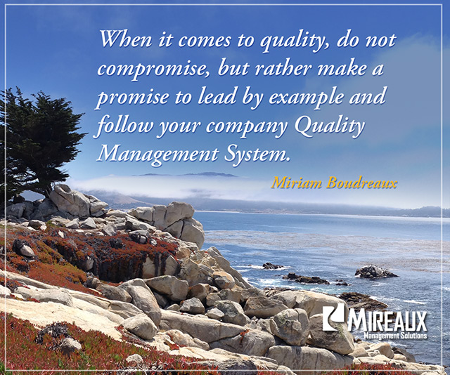 Leadership Dont Compromise Quality