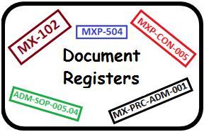 document registers