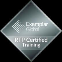 exemplar global rtp certified training badge